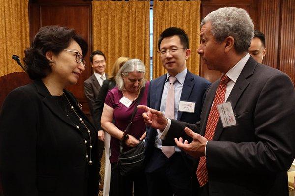 Teresa Cheng visits New York